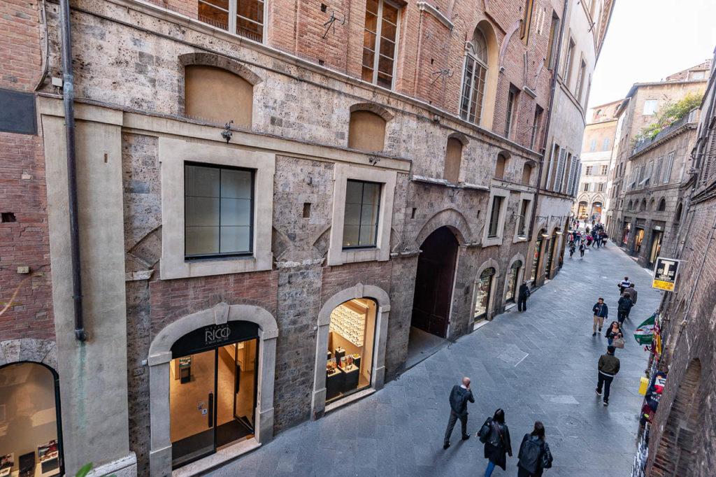 Via Banchi di Sotto foto di Duccio Fiorini
