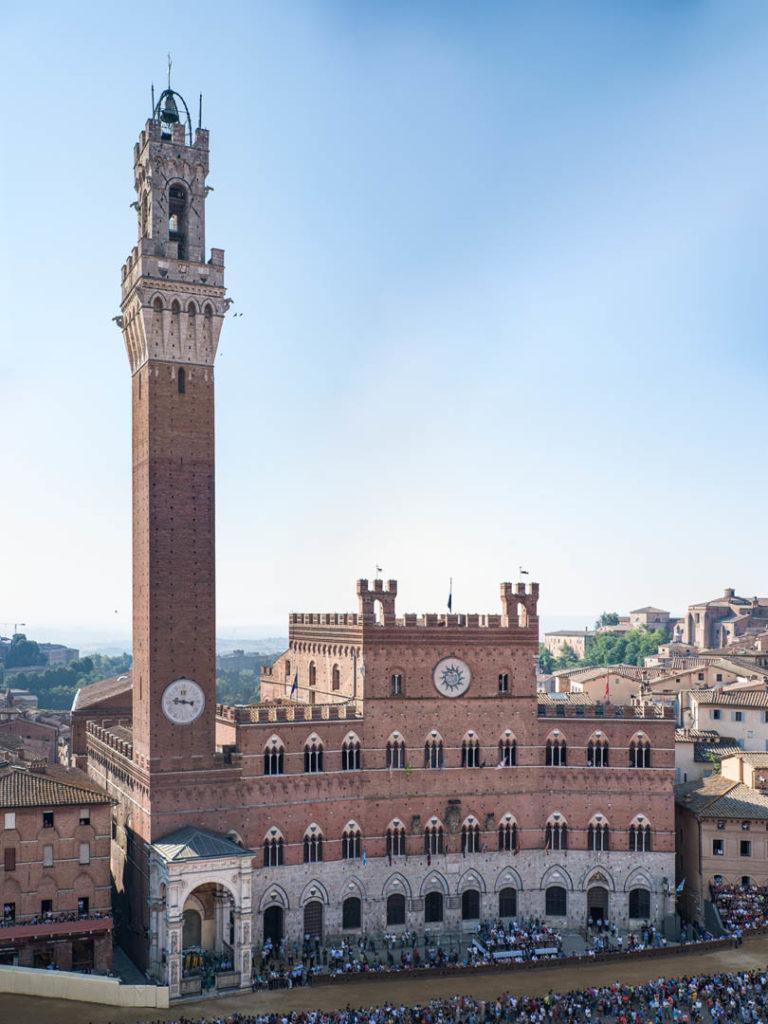 Palazzo Pubblico e Torre del Mangia foto di Duccio Fiorini